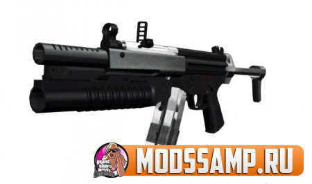 Новый пак оружия для GTA San Andreas