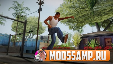 Анимации из GTA 5 для GTA San Andreas