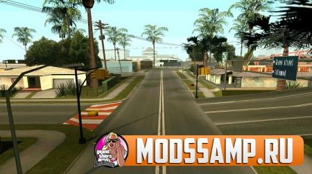 Мод на русские дороги для GTA:SA