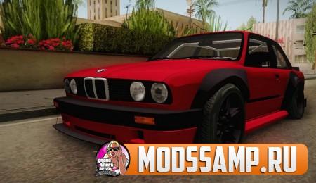 BMW M3 E30 Rocket Bunny (БМВ с крутым тюнингом)