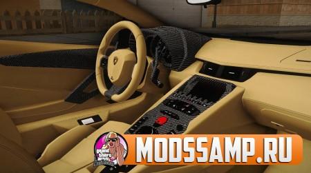 Lamborghini Aventador LP700-4 LB Walk v2 для GTA:SA