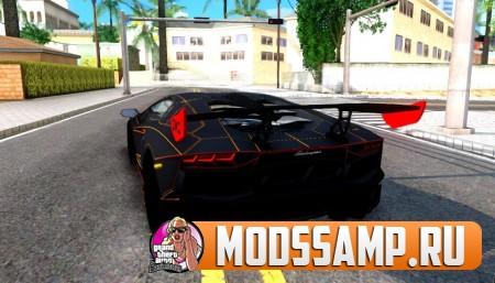 Lamborghini Aventador DMC LP988 для GTA:SA