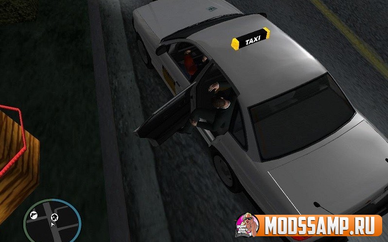 Мод на такси для GTA:SA
