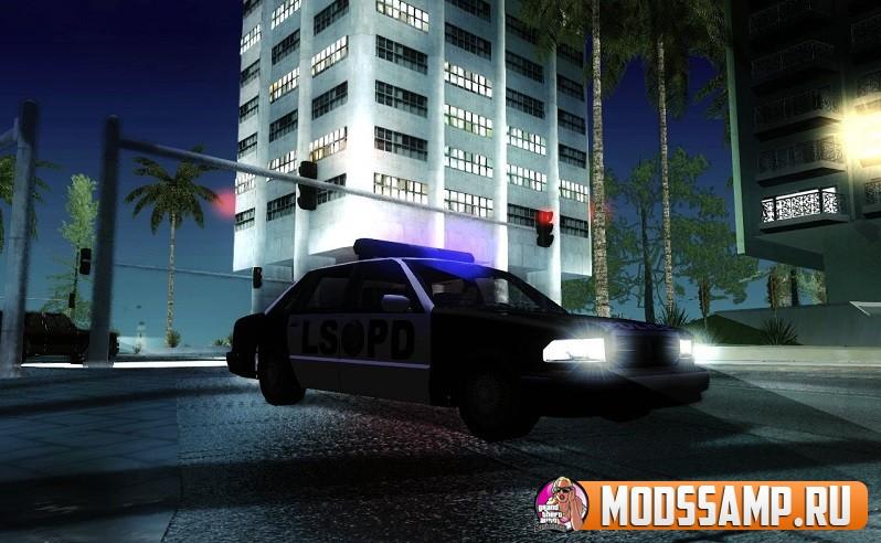 Мод на полицию ГТА СА (Improved Police Pursuit 2.0)