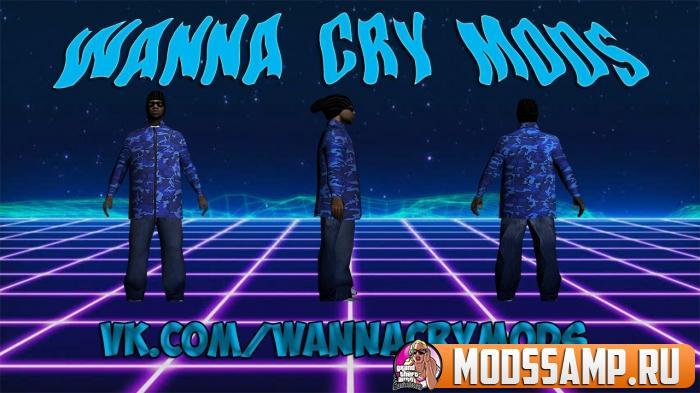 Скин Ballas3 от Wanna Cry Mods