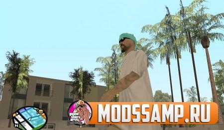 ГТА Сан Андреас Мод на банды (Big Gang Mod)