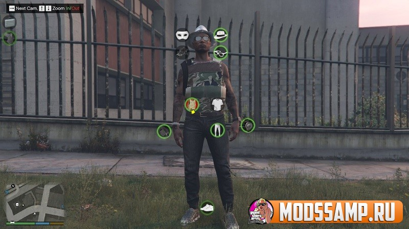 My Char - смена одежды в любом месте GTA 5