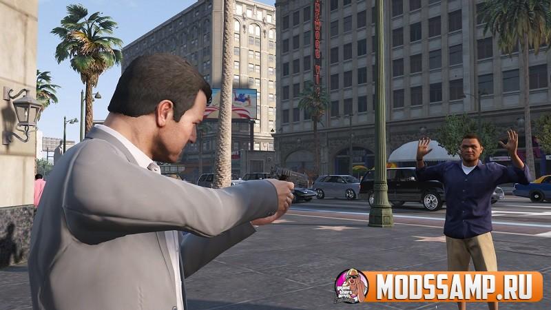 Low Life Crime - ограбления GTA 5 на мотоцикле