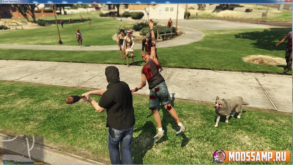 Zombie Survivor - зомби апокалипсис в GTA 5