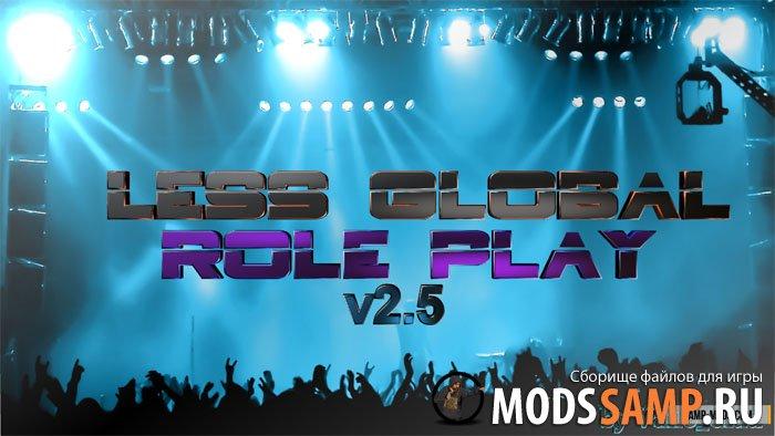 РП мод Less Global-Rp v2.5