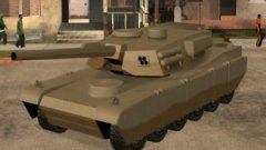 Код на танк Rhino из GTA San Andreas