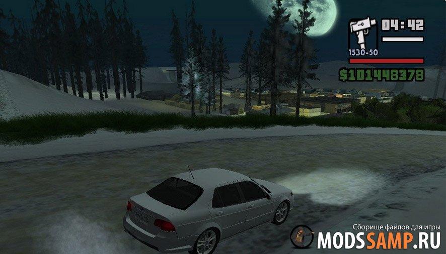Мод зима в GTA:SA